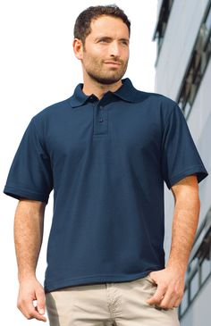 BMB's Action Polo is designed for the printwear and workwear markets
