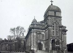 Ste. Anne Church, de la montagne street montreal.  Built in 1854. Building has been demolished
