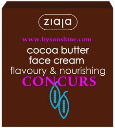 Concurs-Gama Cocoa Butter Ziaja ~ Beauty and Fashion by Sunshine Cocoa Butter, Projects To Try, Cream, Sunshine, Beauty, Fashion, Creme Caramel, Moda, Fashion Styles