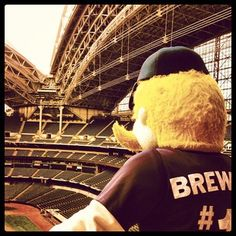 #1 Mascot in all of sports! Bernie Brewer #Brewers