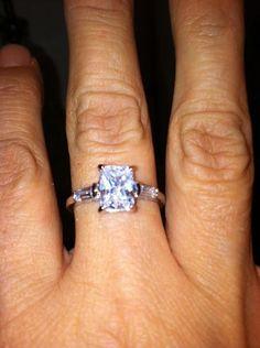 Elizabeth Oliveira Elliott's first ring!