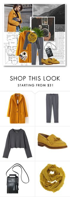 """""""Yellow & grey"""" by avete ❤ liked on Polyvore featuring Office, Acne Studios, Bobbi Brown Cosmetics, Casetify, women's clothing, women, female, woman, misses and juniors"""