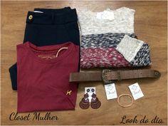 www.facebook/closetmulher.com Look Closet Mulher