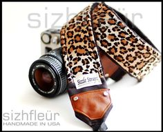 Comfortable Camera strap and Fashion Camera strap by sizzlestrapz, $51.99 I WANT THIS FOR MY BIRTHDAY!