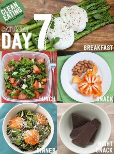 clean eating challenge, day 7