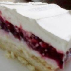 Luscious Blackberry Cream Cheese Dessert