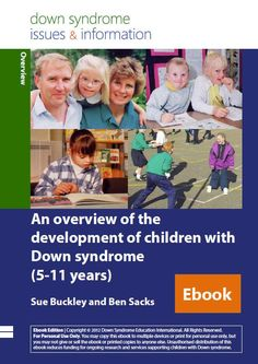 Down syndrome activities worksheets printables and lesson plans an overview of the development of children with down syndrome 5 11 years fandeluxe Image collections