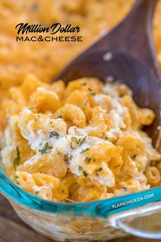 Million Dollar Mac & Cheese - the creamiest and dreamiest mac and cheese EVERRRR! This is the most requested mac and cheese in our house. Pasta Dishes, Food Dishes, Side Dishes, Main Dishes, Cheese Dishes, Easy Cooking, Cooking Recipes, Cheese Recipes, Oven Recipes