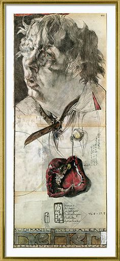 "Horst Janssen: Picture ""Even with pepper heart"" Horst Janssen, Art Paintings For Sale, Acrylic Wall Art, Expressive Art, Illustration, Art Themes, Art Graphique, Fantastic Art, Art Studies"