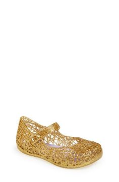 Mini Melissa 'Campana' Mary Jane Flat (Walker & Toddler) available at #Nordstrom