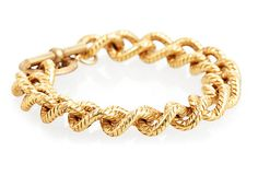 Beatrice Detailed Link Bracelet on OneKingsLane.com