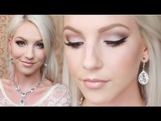 ▶ Bridal Makeup Tutorial (naked) and salted caramel crease, darker brown V, champagne truffle on lid