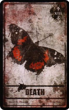 Death XIII (Darkana Tarot by Dan Donche and Janden Hale)