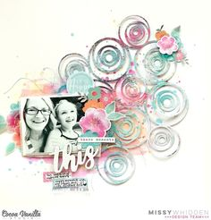 Cocoa Vanilla Studio DT Project - Bohemian Dream collection; Loopy Circle cut file from Just Nick; Shimmerz Paints
