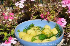 salade pommes de terre aneth persil citron
