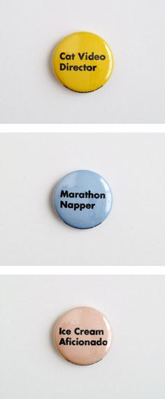 Etsy seller HelloQuietTiger's message pins are absolutely on point. #etsy
