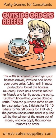 Home Party Games Raffle Party Games