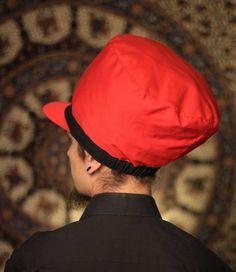 Dreadbag  red and black dreadlocks cap dreads rasta by WuSquared