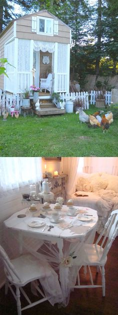 """The photo says """"Shabby Chic""""--Shouldn't that be """"Chick""""?  ;-)"""