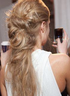 Nice hair & Blackberry