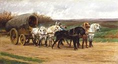 A Waggon and a Team of Horses - Rosa Bonheur