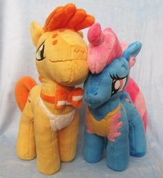 Mr and Mrs Cake Handmade Plush MLP My Little Pony by GearCrafts, $180.00