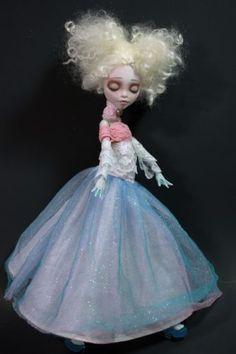 New Drifting Ambiance OOAK Monster High Custom Repaint Fantasy Lagoona Art Doll | eBay #MonsterHighdoll #ooak #custom #repaint #doll #ooakdoll #artdoll #customdoll #dollrepaint #monsterhigh #monsterhighrepaint #victorian #fancy #ethereal #ghostly #soft #feminine #shabbychic #refabrications #pretty #pastel #platinumblonde #lambshair #lace #vintage #art #artdoll #driftingambiance #lagoona #lagoonablue #lagoonarepaint #ooaklagoona