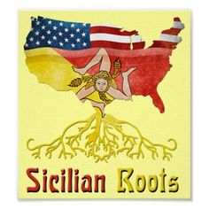 Shop American Sicilian Roots Stickers created by Celticana. Bumper Stickers, Custom Stickers, Sicilian Women, Italian Language, Sicily Italy, My Heritage, Custom Posters, Custom Framing, Ancestry