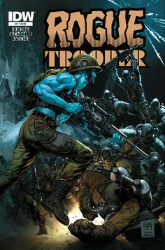 Rogue Trooper #2 Cover by Glenn Fabry Colors by Ryan Brown