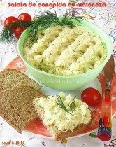 Cauliflower salad with mayonnaise ~ colors on your plate Cold Vegetable Salads, Vegetable Recipes, Cauliflower Salad, Cauliflower Recipes, Romanian Food, 30 Minute Meals, Fabulous Foods, Party, Food And Drink
