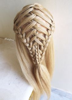 Crossed triple braids