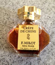 RARE-Vintage CREPE De CHINE Perfume by E. by VintageKitchNmore