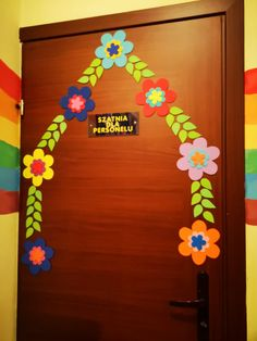 Flower Art, Frame, Flowers, Home Decor, Doors, Manualidades, Drawings, Preschool, Kids