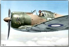 Close port-side view of a CAC Boomerang fighter aircraft, serial no. 5 (Tactical Reconnaissance) Squadron RAAF, piloted by 407056 Flight Lieutenant Donald Howard Goode of Port Pirie, South Australia. Ww2 Aircraft, Fighter Aircraft, Military Aircraft, Fighter Jets, Photo Avion, Royal Australian Air Force, Ww2 Photos, Red Army, Vintage Airplanes