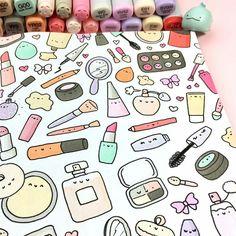 Likes, 24 Comments - ⭐️KiraKiraDoodles (. - Source by Dresses kawaii Doodle Art, Doodle Drawings, Easy Drawings, Doodles Kawaii, Cute Doodles, Griffonnages Kawaii, Kawaii Makeup, Doodles Bonitos, Doodle Inspiration