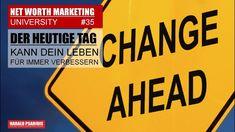 NWM & DIRECT SELLING NEWS #35 -DER HEUTIGE TAG KANN DEIN LEBEN ÄNDERN Heutiger Tag, Change, Direct Sales, Marketing, Tv, Tvs, Television Set