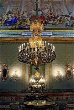 Un salón del Palacio Real