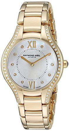 Raymond Weil Women's 'Noemia' Swiss Quartz Stainless Steel Dress Watch, Color:Gold-Toned (Model: 5132-PS-00985) Review