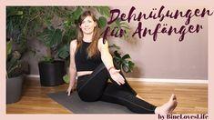Ein kurzes Video mit den besten Dehnübungen für Anfänger German, Yoga, Fitness, Home Decor, Health, Nice Asses, Deutsch, Decoration Home, German Language