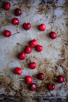 Cherries by Rebecka G. Sendroiu