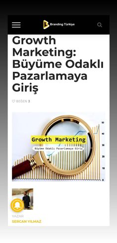 """Daha önce zaman buldukça Growth Hacking hakkında, """"Growth"""" bakış açısı hakkında ve en çok bilinen büyüme modeli olan AARRR hakkında birkaç şey yazmaya çalışmıştım. Bu yazımda da, Growth Hacking ile çok karıştırılan ve ne yazık ki sektör profesyonellerinin bile bu konuda hataya düştüğü; """"Growth Hacking aslında yoktur; Growth Marketing o"""" dediği kavrama şöyle yüzeysel bir giriş yapalım istiyorum. Company Logo, Branding, Marketing, Brand Management, Identity Branding"""