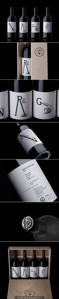 Manousakis Winery Magnums #label #design | by Marios Karystios