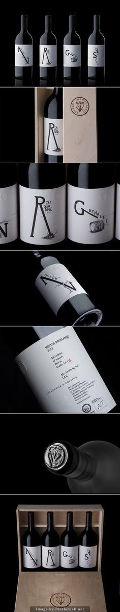 Manousakis Winery Magnums #label #design | by Marios Karystios
