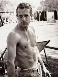 I can hardly stand how gorgeous Paul Newman was.