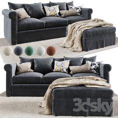 GRONLID 3-seat sofa Living Room Sofa, Living Spaces, Sofa Gris, Ikea Bank, Victorian Parlor, Ikea Sofa, Gray Sofa, Great Rooms, New Homes