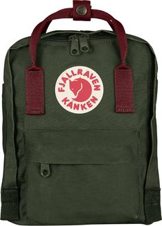 Kånken was released in 1978 to help prevent back problems seen among Swedish school children and over the years has become one of Fjällräven's most popular products. Kånken Mini is suitable for smaller children and even adults who want to have a small ba