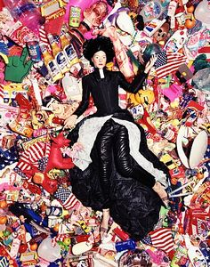 Couture Consumption - David LaChapelle A glamoured look at American consumer consumption. http://www.artnet.com/awc/david-lachapelle.html
