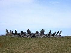 Bryn Cader Faner stone circle - Stone crown