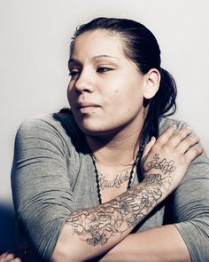 Adam Amengual photography . Portraits of Former LA gang members. #tattoo