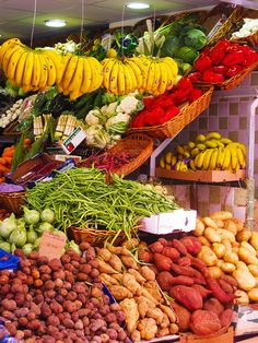 Mercado de Nuestra Señora de Africa, Santa Cruz de Tenerife, Tenerife, Islas Canarias